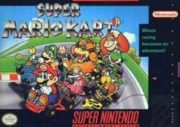 Caixa do Super Mario Kart