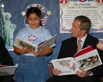 Bush e seus hábitos peculiares de leitura